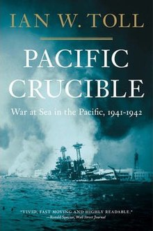 Тихоокеанский тигл Война на море в Тихом океане 1941–1942 гг. Book cover.jpg