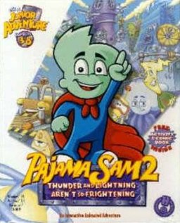 Pajama Sam 2 Thunder and Lightning Aren't So Frightening Cover.jpg