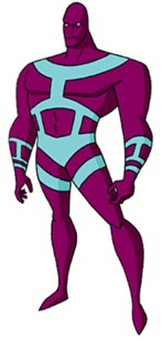Parasite (comics) - Parasite as he appears in the DC Animated Universe
