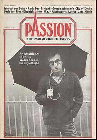 Paris Passion - First Issue, November 1981