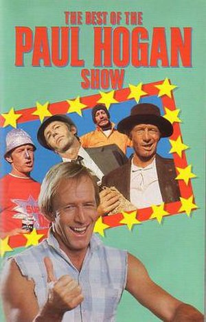 The Paul Hogan Show - VHS cover