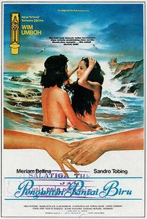 Pengantin Pantai Biru (1983 film) - Image: Pengantin Pantai Biru (1983; obverse; wiki)