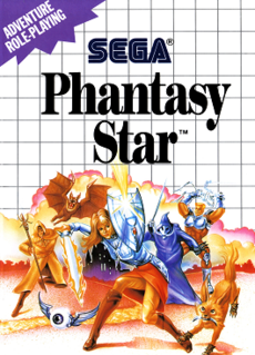 <i>Phantasy Star</i> (video game) 1987 role-playing video game