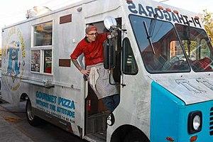 Lower Westheimer, Houston - A food truck in Lower Westheimer