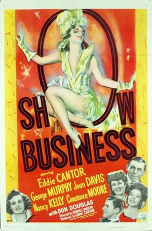 Show Business (1944 film) - Theatrical release poster