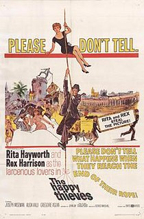 <i>The Happy Thieves</i> 1961 American crime/comedy-drama film by George Marshall