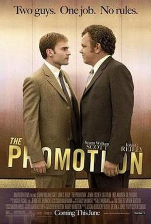 The Promotion - Promotional poster