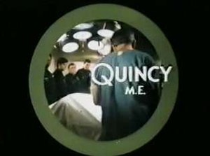 Quincy, M.E. - Title card