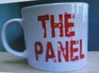 The Panel (Irish TV series) - The iconic Panel mug, from which the panelists would sip.