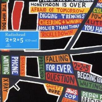 2 + 2 = 5 (song) - Image: Radiohead 2+2=5 CD1