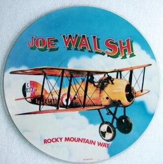 Rocky Mountain Way (song) - Image: Rockymountainway
