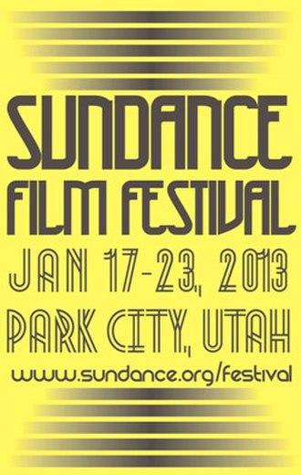 2013 Sundance Film Festival - Festival poster