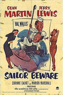 <i>Sailor Beware</i> (1952 film) 1952 film by Hal Walker
