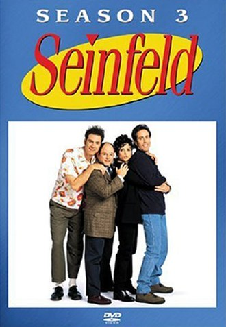 Seinfeld (season 3) - DVD cover