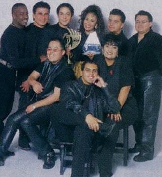 Selena y Los Dinos - The Members as of 1995