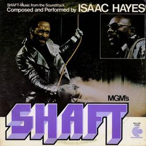 Shaft (album) - Image: Shaft cover