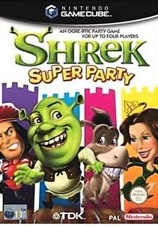<i>Shrek Super Party</i> 2002 video game
