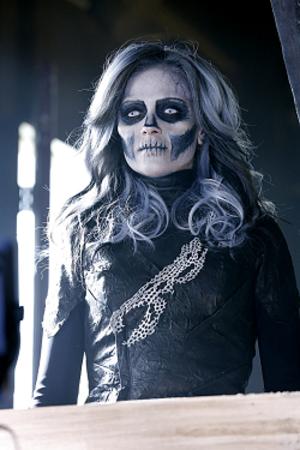 Silver Banshee - Italia Ricci as Siobhan Smythe/Silver Banshee in CBS television series Supergirl.