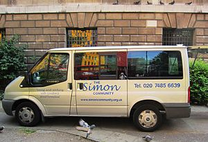 Simon Community - Community transport.