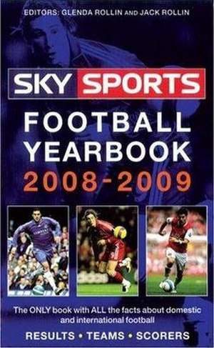 Sky Sports Football Yearbook - Image: Sky Sports Football Yearbook 2008 09