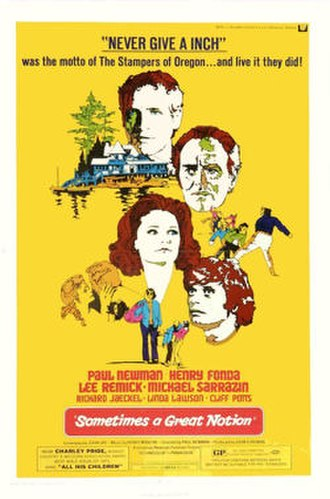 Sometimes a Great Notion (film) - Theatrical release poster