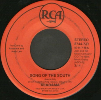 Song of the South (song) - Image: Song of the South vinyl