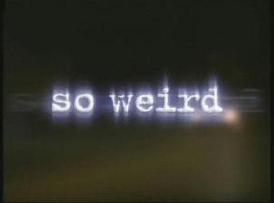 Picture of a TV show: So Weird