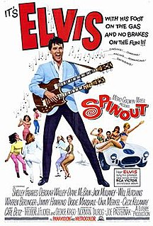 <i>Spinout</i> (film) 1966 film by Norman Taurog