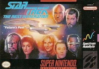 Star Trek: The Next Generation (1994 video game) - Image: Star Trek The Next Generation game cover