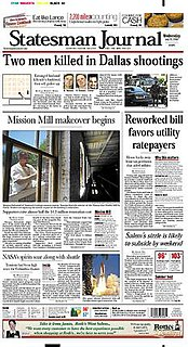 <i>Statesman Journal</i> major daily newspaper published in Salem, Oregon, United States