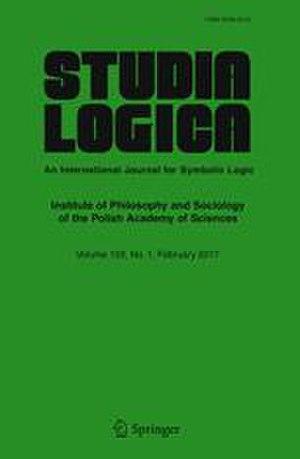Studia Logica - Cover of a Studia Logica Journal
