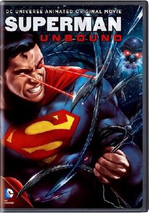 Superman: Unbound - DVD cover