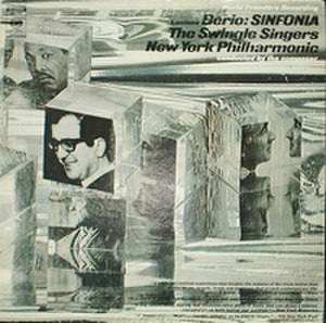 Sinfonia (1968 Berio album) - Image: Swingle Singers And NY Philharmonic Berio Sinfonia Columbia