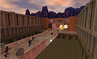 Team Fortress Classic - Image: Team Fortress Classic 2Fort