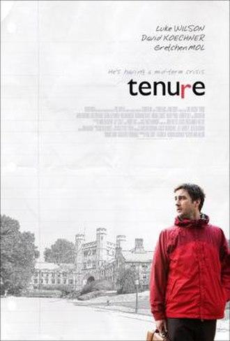 Tenure (film) - Theatrical release poster