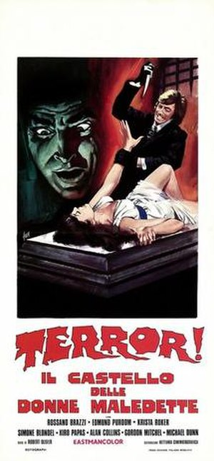 Frankenstein's Castle of Freaks - Image: Terror il castello delle donne maledette italian movie poster md