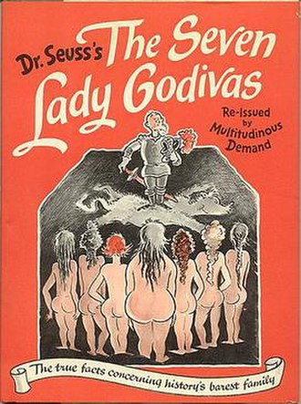 The Seven Lady Godivas - The cover of the 1987 reprinting.