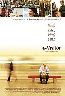 <i>The Visitor</i> (2007 drama film) 2007 film by Thomas McCarthy