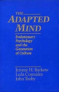 <i>The Adapted Mind</i> 1992 book by Jerome H. Barkow, Leda Cosmides, and John Tooby