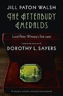 <i>The Attenbury Emeralds</i> 2010 novel by Jill Paton Walsh