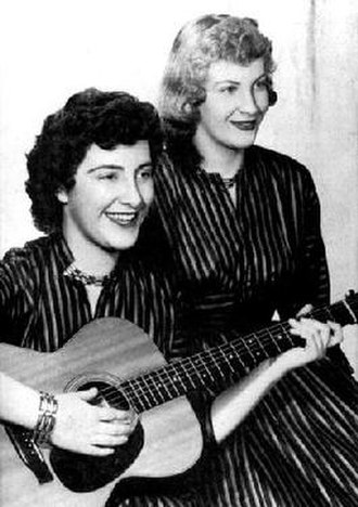 The Davis Sisters (country band) - Betty Jack and Skeeter Davis