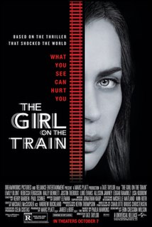 <i>The Girl on the Train</i> (2016 film) 2016 film by Tate Taylor