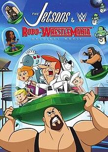 Los supersónicos y WWE: Robo-Wrestlemania