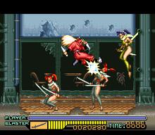 The Ninja Warriors 1994 Video Game Wikipedia