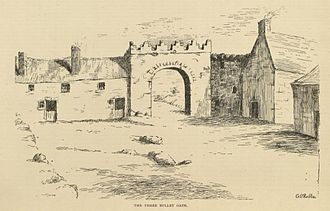 Battle of New Ross (1798) - The Three Bullet Gate (19th century)
