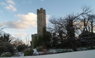 C.B.C. Monkstown - Charles Haliday's Tower Folly, on the east of CBC Monkstown's grounds