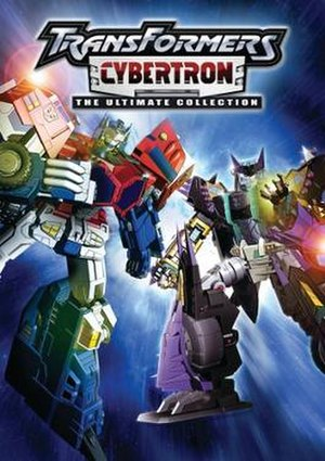 Transformers: Cybertron - Image: Transformers Cyberton DVD cover art