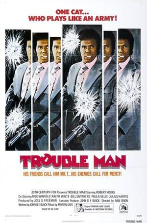 Trouble Man (film) - Theatrical film poster