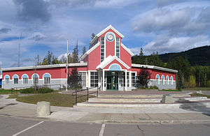 Tumbler Ridge - Tumbler Ridge district hall