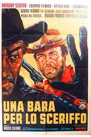A Coffin for the Sheriff - Original theatrical release poster